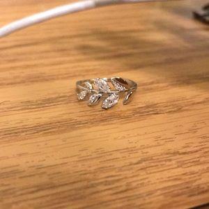 Sparkly, Mayfly Swarovski ring